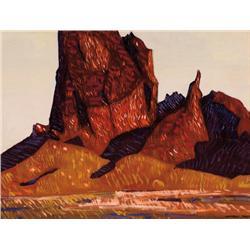 Buff, Conrad - Late Afternoon, Agathla (1886-1975)