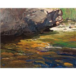 Chmiel, Len - Creeks & Rocks (b. 1942)