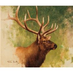 Smith, Tucker - Bull Elk Head (b. 1940)