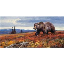 Carlson, Ken - Traveling the Tundra (b. 1937)