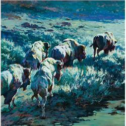 Rieman, Sheila - The Procession (b. 1958)