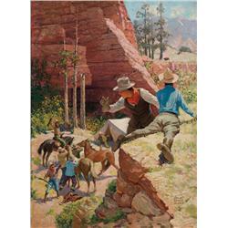Amick, Robert W. - Hunting Wild Bear (1879-1969)