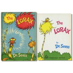 Dr. Seuss ''The Lorax'' First Edition