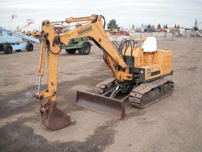 1986 Yanmar YB1200S Mini Excavator