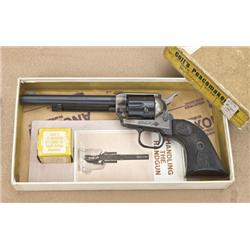 Colt Frontier Scout Peacemaker single action  revolver in two piece factory cardboard box  with end