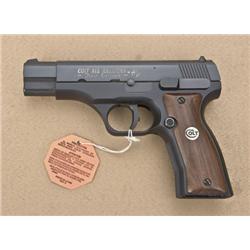 """Colt All American First Edition Model 2000 DA  semi-auto pistol, 9mm cal., 4-1/2"""" barrel,  black fin"""