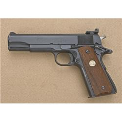 "Colt MK IV Series '70 Government Model  semi-auto pistol, 9mm Luger cal., 5"" barrel,  black finish,"