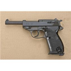 """P38 German military issue byf-coded for  Mauser manufacture, 1944-dated, serial #4250  with """"Y"""" suff"""