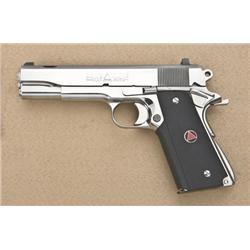 "Customized Colt Delta Elite semi-auto pistol,  10mm cal., 5"" ported barrel, stainless steel  constru"