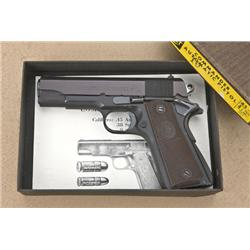 Colt Lightweight Commander Model semi-auto  pistol, unusual in .30 Luger caliber (marked  on left si