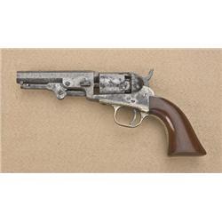 "Colt Model 1849 pocket percussion revolver,  .31 cal., 4"" octagon barrel, blue and case  hardened fi"