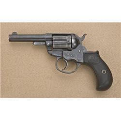 "Colt model 1877 Thunderer .41 caliber  storekeeper's model, 3-1/2"" barrel, blue and  case hardened f"