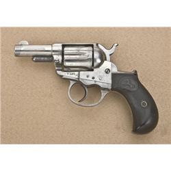 "Colt Thunderer .41 caliber storekeeper's  model, 2-1/2"" barrel, nickel plated,  hard-rubber grips, s"