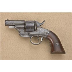 "Bacon Mfg. Co. Removable Trigger Guard Pocket  revolver, .32 cal., six shot, 2-1/4"" barrel,  engrave"