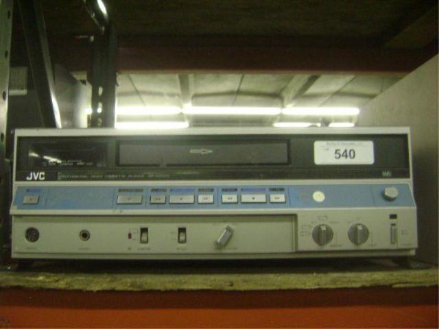 JVC BP-5300U VCR {print sequence:} S514453