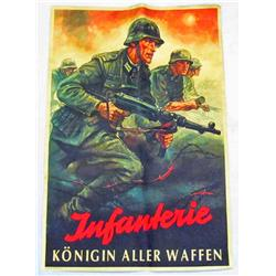 WW2 German Infantry Poster Infanterie