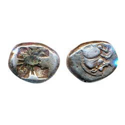 LYCIA. 520-470 BC. AR. Stater. (9.3 g). Fine+.