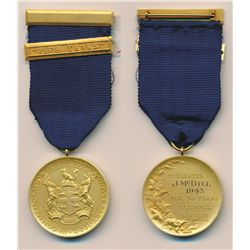 Trio of Hudson's Bay Company awards. H.B.C. Long Service Medal. Presented to Joseph McDill, 1928 for