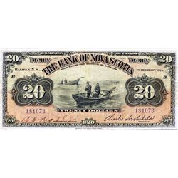 THE BANK OF NOVA SCOTIA. $5.00. Jan. 2, 1929. CH-550-34- 02. No. 1980615/A. PMG graded Very Fine-30.
