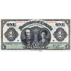 $1.00. Jan. 3, 1911. DC-18d. Black Line. No. 701538-W/B. PCGS graded Apparent Very Fine-30. Small st