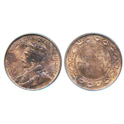 1906. PCGS graded Mint State-63. Brown. Trace of luster; 1916. 1917. Both PCGS graded Mint State-64.