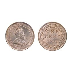 1908. ICCS Mint State-65. Red. A Gem with 90% original mint state remaining.