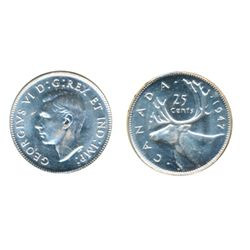 1947. ICCS Mint State-64. Brilliant.