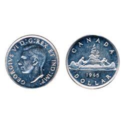 1945. ICCS Mint State-60. Rim nick.