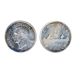 1950. ICCS Mint State-67. A superb Gem. Very light traces of blue toning.