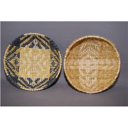 TWO HOPI SIFTER BASKETS