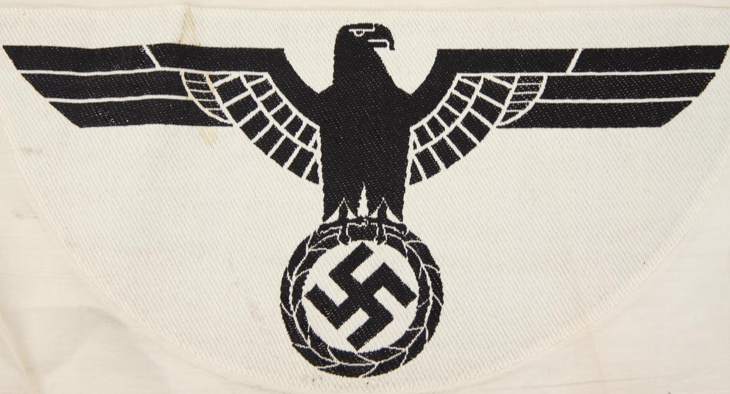 6 VARIOUS WWII GERMAN PATCHES AND INSIGNIA