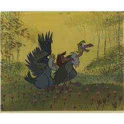 Original production cel of Vultures from The Jungle Book