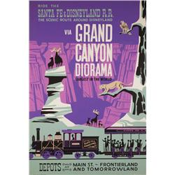 Grand Canyon Diorama attraction poster