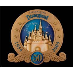 Disneyland 50th Anniversary sign
