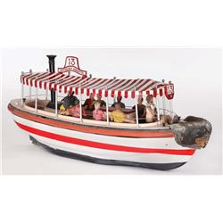 Radio controlled boat from Safari Adventure: Remote Jungle Cruise at the Disneyland Hotel
