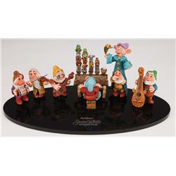 Orig Disney Snow White's Scary Advts Disneylnd rd cncpt maquettes & mstr cntinuity prgrs photo album