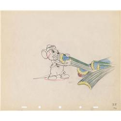 The Country Cousin original production drawing of Abner