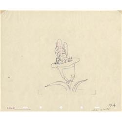 Three original production drawings from Ferdinand the Bull