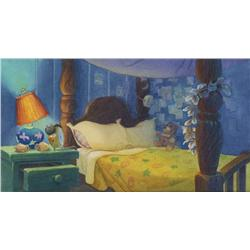 Lilo and Stitch William Silvers concept painting