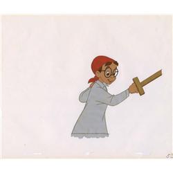 Original production cel of John Darling from Peter Pan