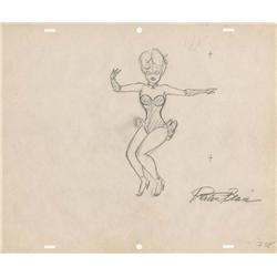Collection of Preston Blair drawings for Red Hot Riding Hood