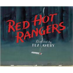 Tex Avery Red Hot Rangers title card