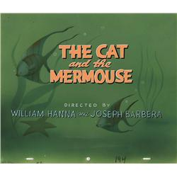 """The Cat and the Mermouse"" Tom & Jerry title card"