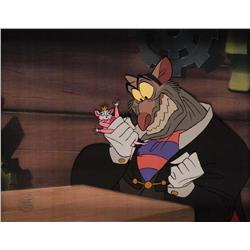 Ratigan production cel from The Great Mouse Detective