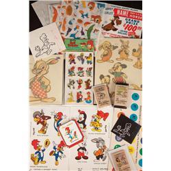 Collection of Walter Lantz Woody Woodpecker ephemera