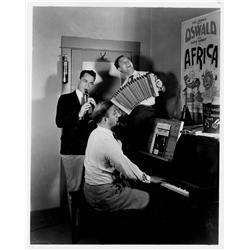 "Frank Churchill 34-page manuscript score for Oswald the Rabbit in ""Yokel Boy Makes Good"""
