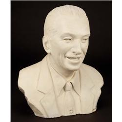 Plaster bust of Walt Disney by Walter Lantz' brother, Michael