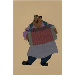 Production cel of Tony from Lady And The Tramp