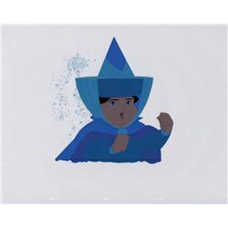 Original production cel of Merryweather from Sleeping Beauty