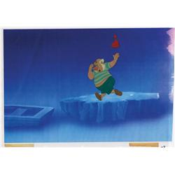 Peter Pan original production cel of Mr. Smee